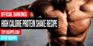 High Calorie Protein Shake Recipe