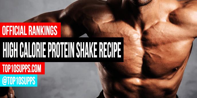 Hoher Kalorien Protein Shake Rezept
