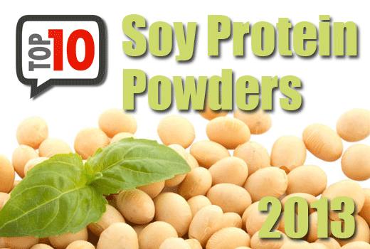best soy protein powders 2013
