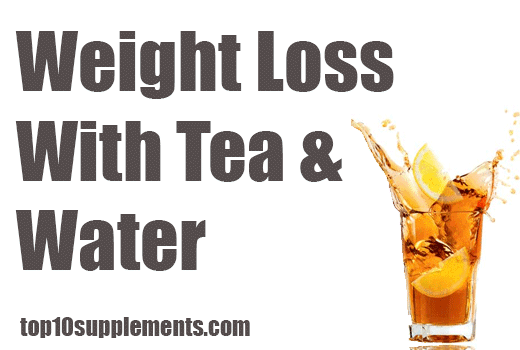 Weight Loss with Tea and Water