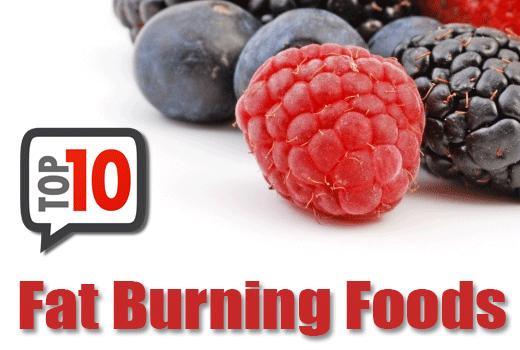 Top 10 Fat Burning Foods