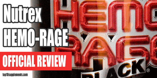 Nutrex HEMO-RAGE Nero Review Ultra Concentrate