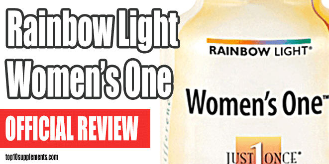 Rainbow Light Women's One Multivitamin Review