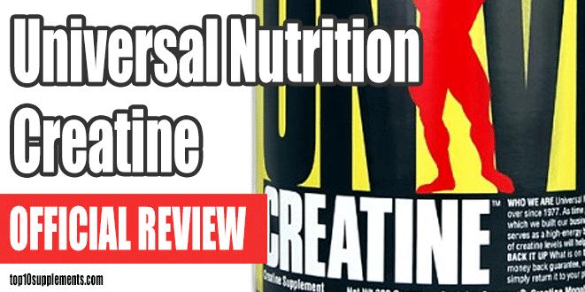 Universal Nutrition Creatina Comentario
