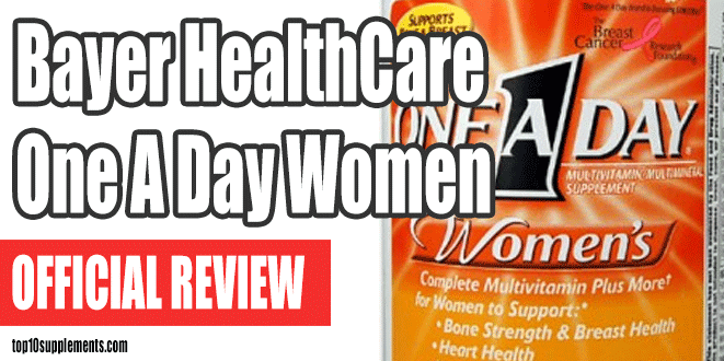 Bayer HealthCare One A Day Women's Review
