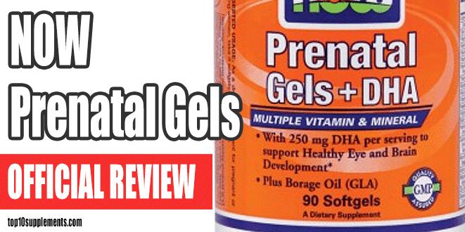 NOW prenatale Gel Review