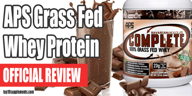 APS Complete 100% Grass Fed Whey Protein Review