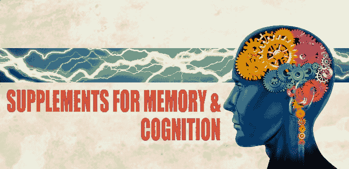 supplements for memory and cognition
