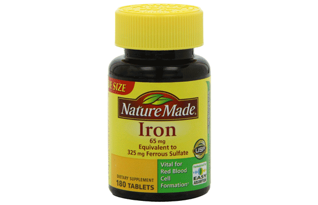 iron for energy