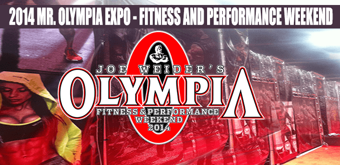 2014's Mr. Olympia Expo – Fitness and Performance Weekend