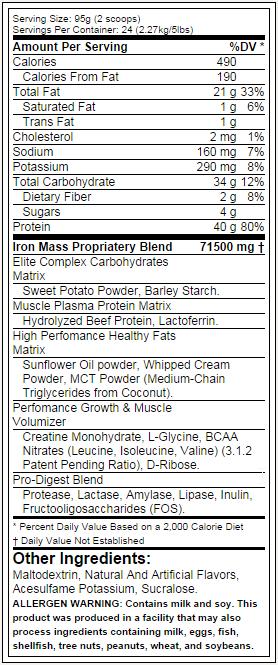 Arnold Schwarzenegger--Series-Ferro-Mass-nutrição-label