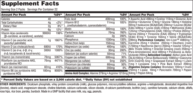 animal-pak-nutritional-label