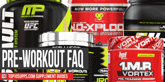 What Are Pre-Workout Supplements? – Frequently Asked Questions