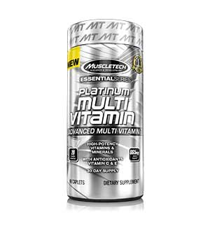 MuscleTech Platinum multivitamines critique