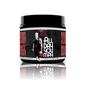 Rich Piana 5% Nutrition AllDayYouMay Review