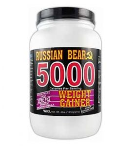 vitol-russian-bear-5000 კილოგრამ gainer