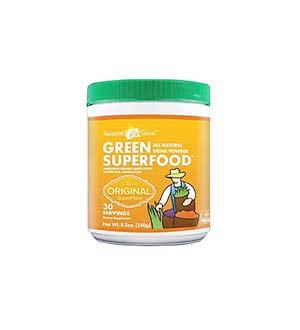 कमाल-घास हरी-superfood-पाउडर