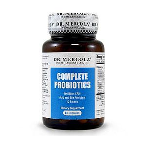 Dr-Mercolę zupełnych-Probiotyki