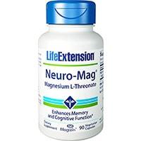जीवन विस्तार न्यूरो मैग मैग्नीशियम एल थ्रेओनेट