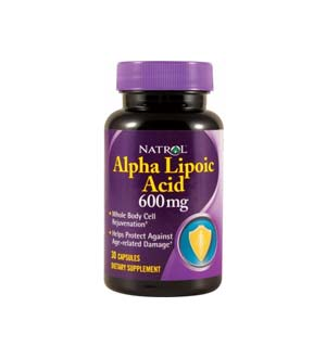 Natrol-Alpha-lipoic suur
