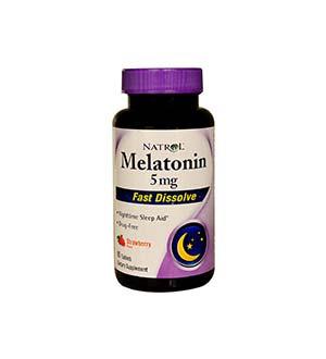 Natrol-เมลาโทนิรวดเร็วละลาย