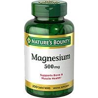 Natures बाउंटी मैग्नीशियम