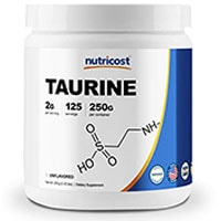 Nutricost Taurine पाउडर