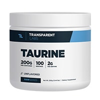 पारदर्शी-लैब्स-RawSeries-Taurine