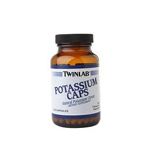 Twinlab-კალიუმის caps