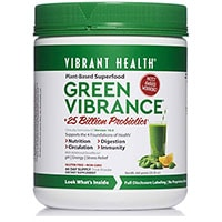 Здравословна зелена вибриране на здравето
