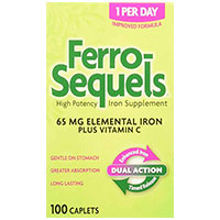 Ferro Sequels High Potency Iron Supplement
