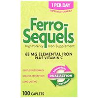 Ferro Sequels High Potency Iron Supplement