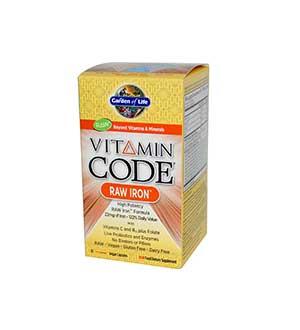 गार्डन का जीवन-विटामिन-कोड आयरन