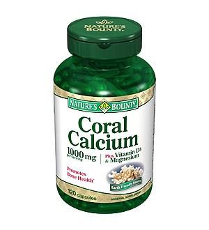 طبیعت-فضل-مرجان-کلسیم-به علاوه ویتامین D3 و منیزیم
