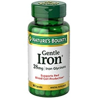 Natures Bounty Gentle Iron