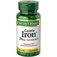 Natures Bounty Gentle Iron