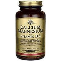 Solgar Kalsiummagnesium Med Vitamin D3