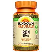Желязо от Sundown Naturals