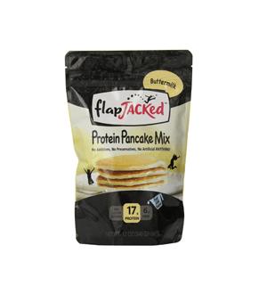 FlapJacked-proteiini-Pannukakku-Mix-review