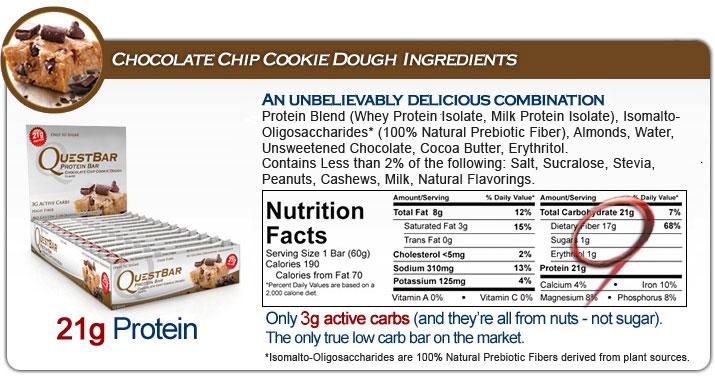 Quest-Bar-Nutrition-Label
