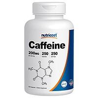 Nutricost-cafeína píldoras
