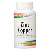 Solaray---Zinc-Copper