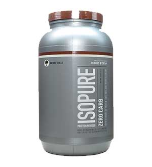 Natures Best-Zero-Carb-Isopure