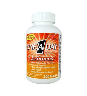 Bayer HealthCare--One-A-Day-Womens-review