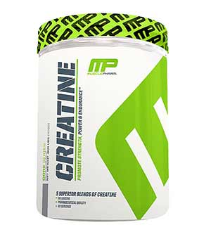 recensione MusclePharm Creatina
