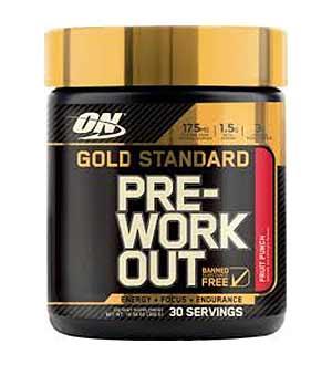 Optimum Nutrition--aur-standard-Pre-antrenament