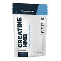 Transparente HMB creatina Labs StrengthSeries Creapure