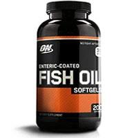 Softgels de aceite de pescado de Optimum Nutrition