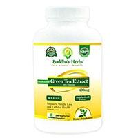 Buddhas Urter Decaffeinated Green Tea Extract