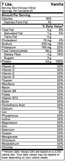 natures-best-isopure-mass-supplement-facts